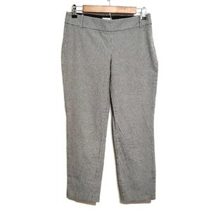 J. Crew Wool Blend Cropped Houndstooth Chino Pants